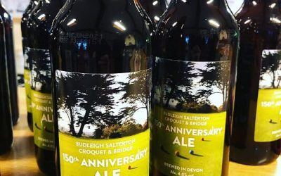 Budleigh Salterton Croquet & Bridge Club 150th Anniversary Ale