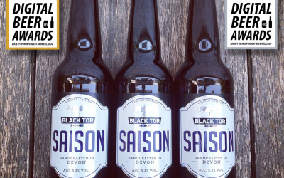Black Tor Wins Three SIBA Digital Beer Awards